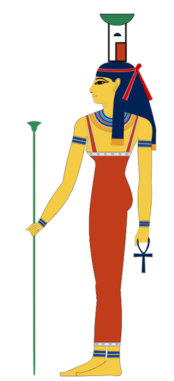 Egyptian Goddess Nephthys as drawn by Jeff Dahl