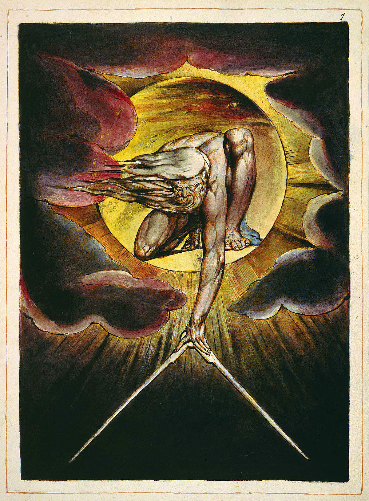Solstice: Europe: A Prophecy by William Blake