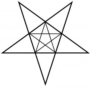 Dual Pentagram Star