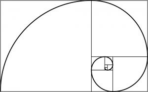 The Pentagram: Golden Mean Spiral of Phi Ratio