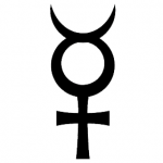 Mercury Glyph, threefold: Astrology, Alchemy, Magick