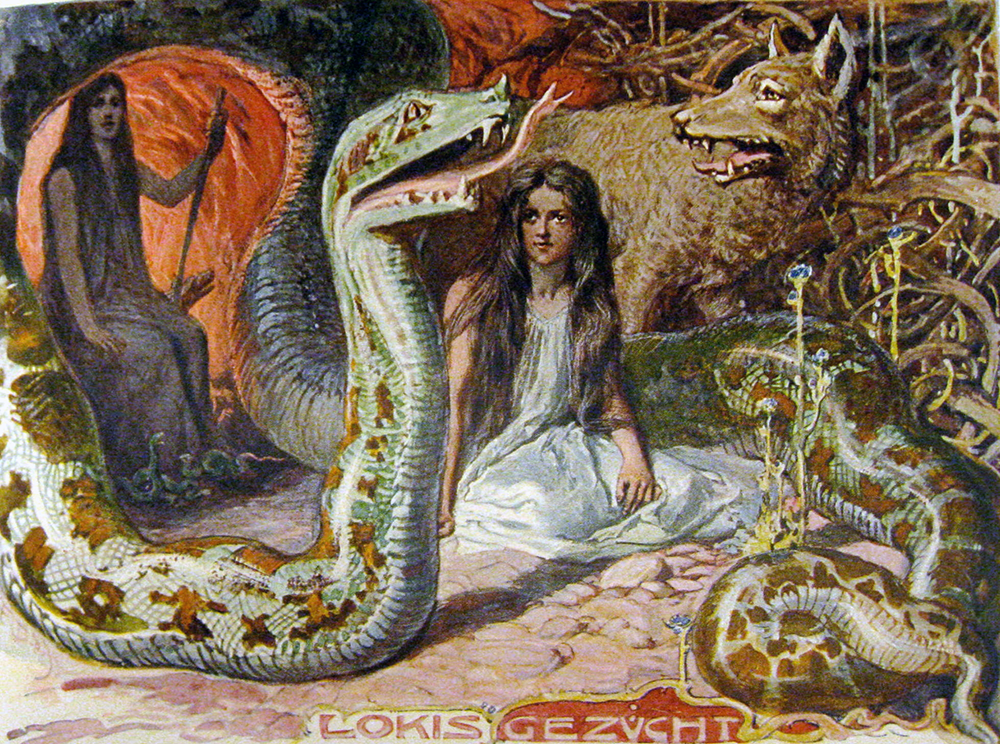 Serpent Tongue: Loki's Brood, Emil Doepler 1905