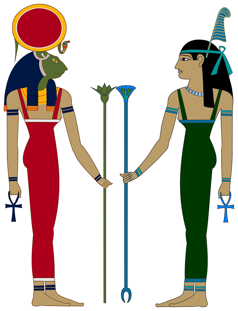 Sekhet and Maat: Leo and Libra