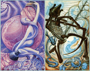 Lineage of Magi: Star XVII and Death XIII Thoth Tarot