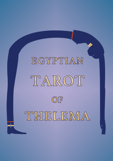 Egyptian Tarot of Thelema Card Box