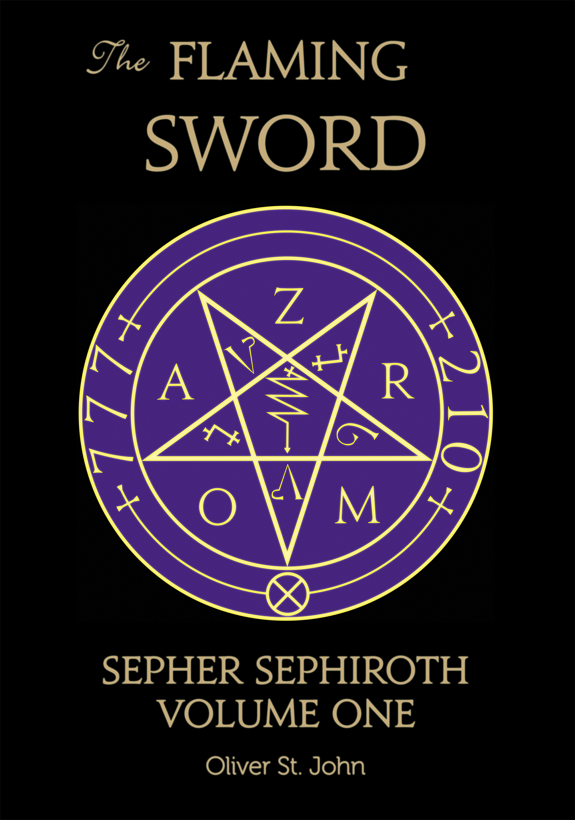 Ordo Astri Books: Flaming Sword Sepher Sephiroth Cover Art