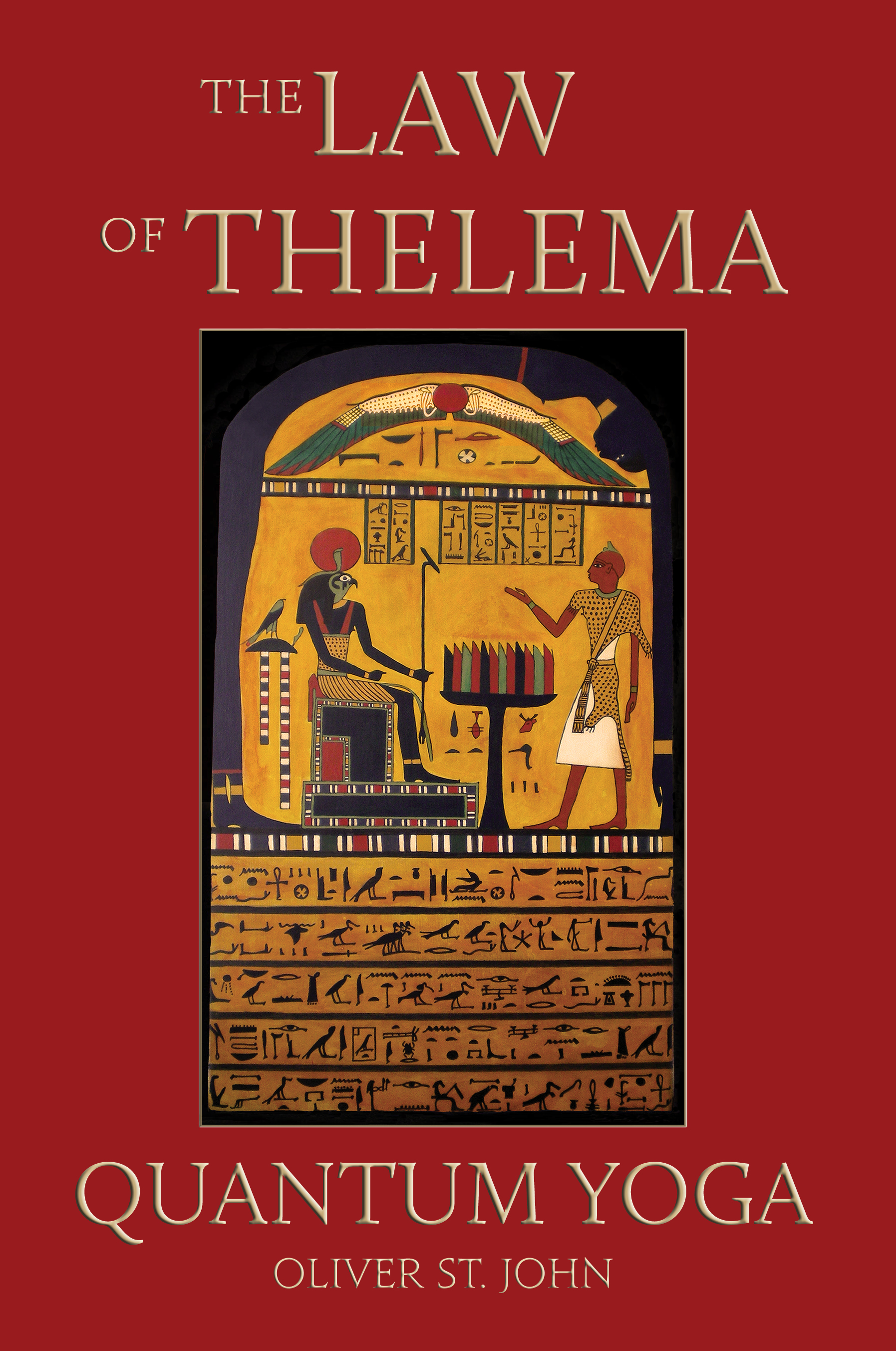Law of Thelema Quantum Yoga cover art
