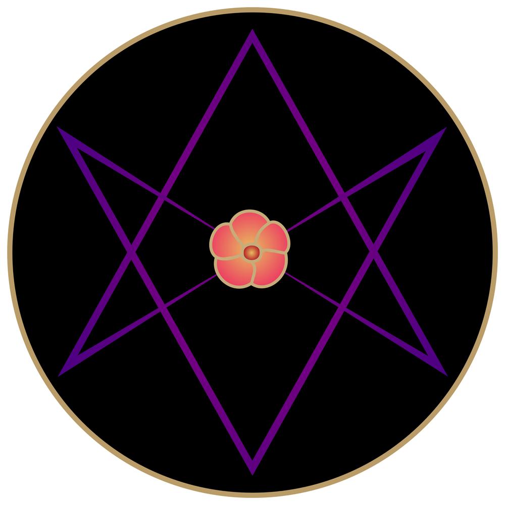 Ritual 718 Stella Sophia: Unicursal Hexagram