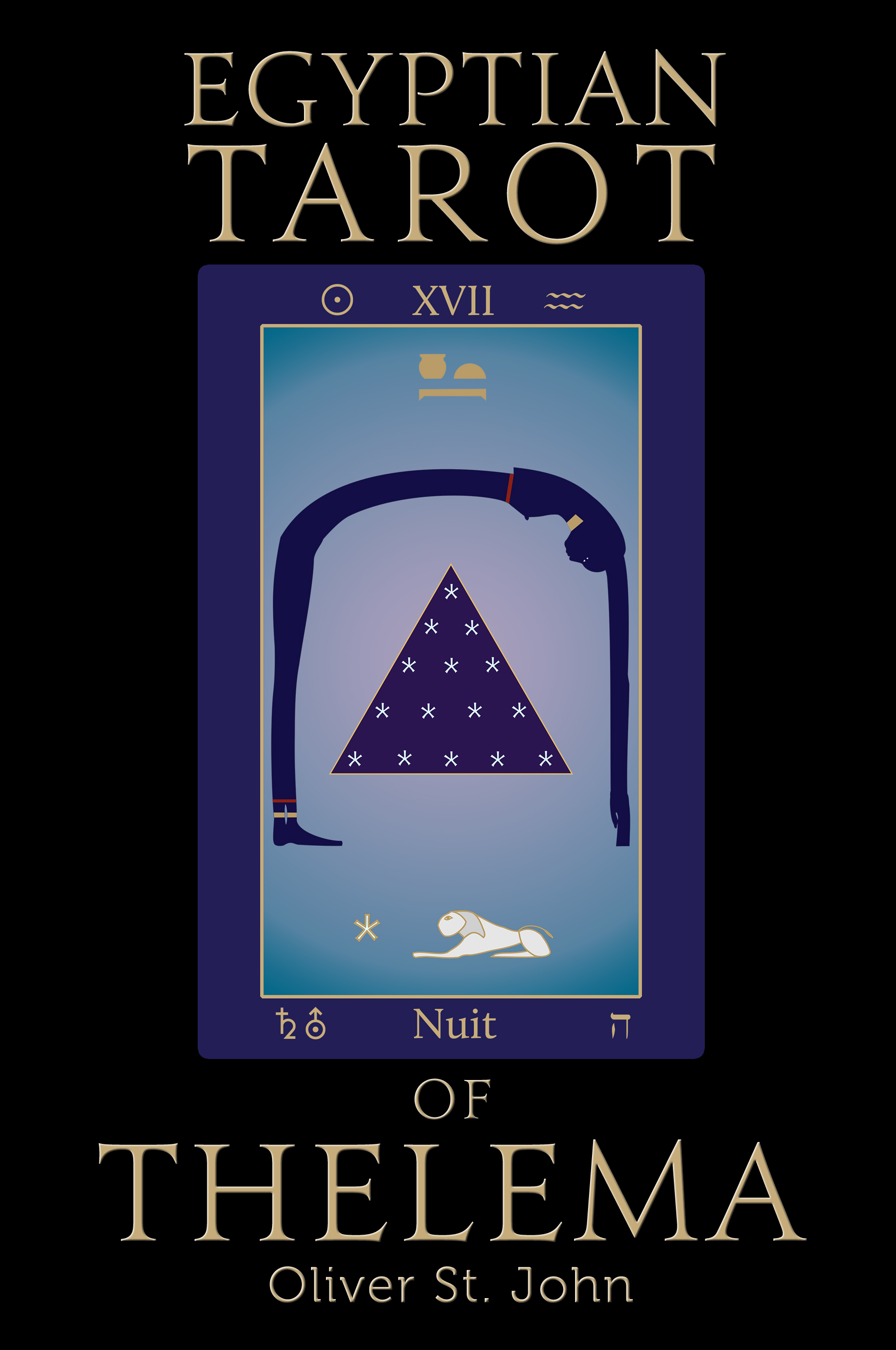 Egyptian Tarot of Thelema (book cover)