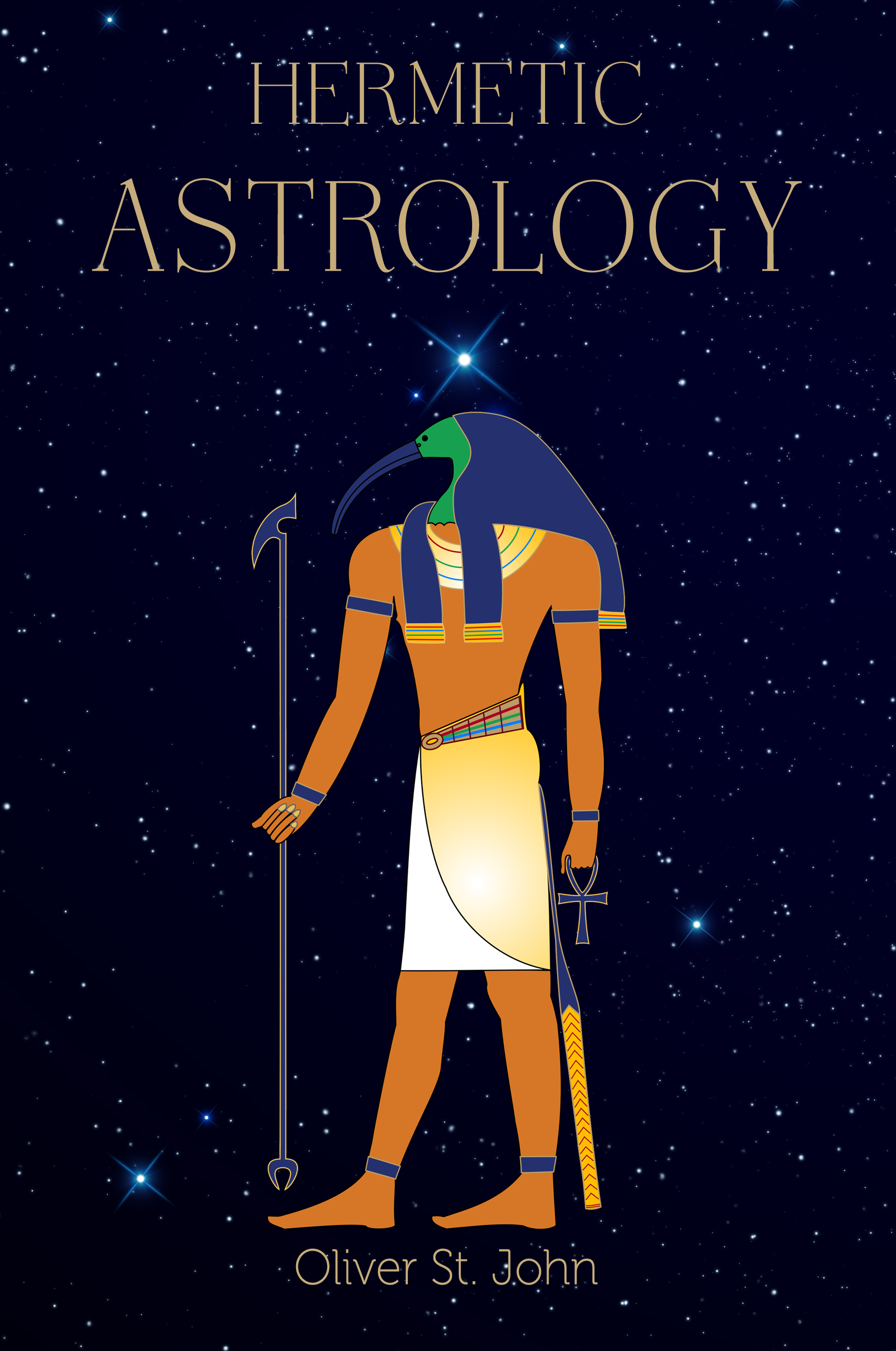 Hermetic Astrology Cover Art